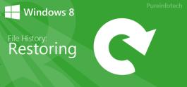 Restore File History Windows 8