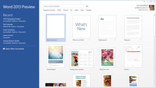 Word Start Screen Web