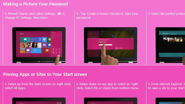 Facebook app for Windows 8