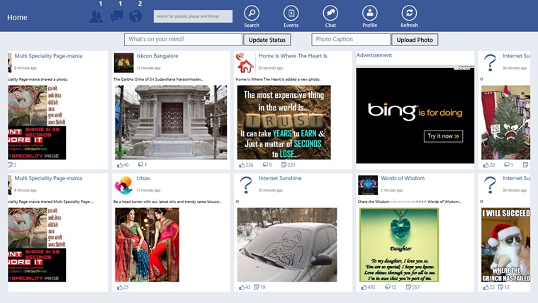 FB for Win 8