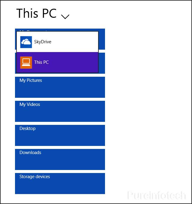 File app - File Explorer metro manager