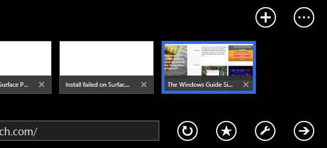 Favorite a website on Internet Explorer 11