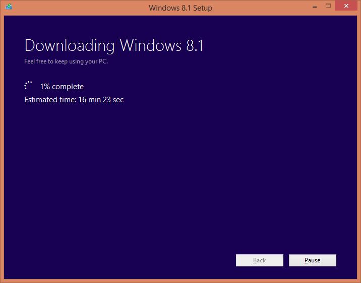 Download Windows 8.1 with Windows 8 key