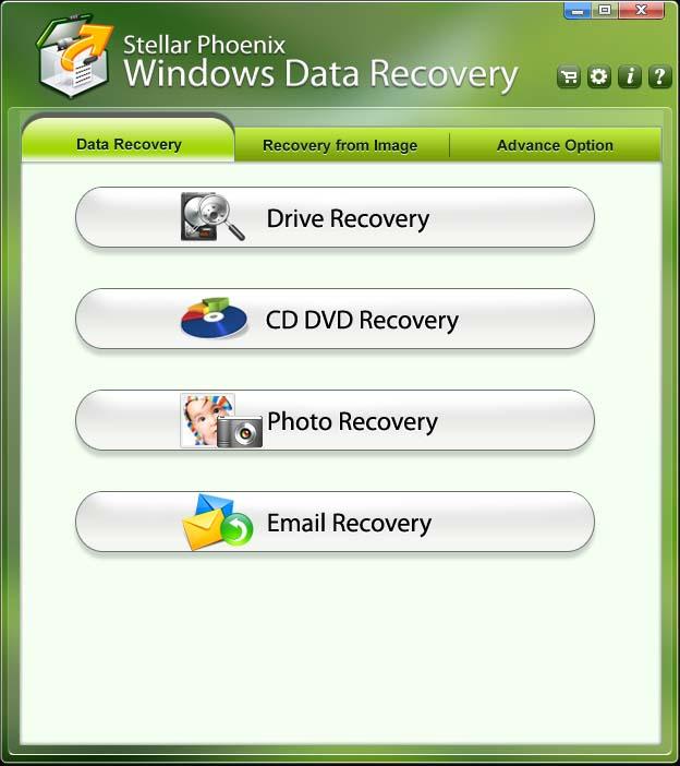 Data Recovery tool Stellar Phoenix