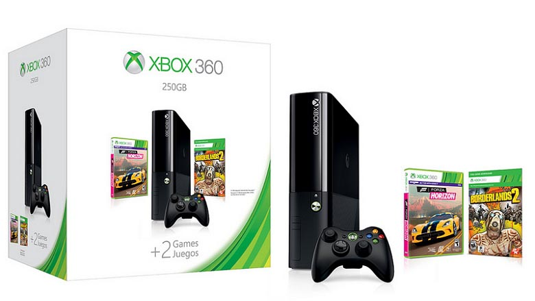New Xbox 360 All Games : Microsoft new xbox bundle offers gb and free