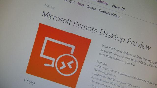 Microsoft Remote Desktop Preview app arrives to Windows Phone 8 1