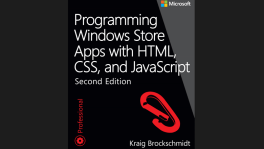 """Programming Windows Store Apps with HTML, CSS, and JavaScript"""" Second Edition, by Kraig Brockschmidt free ebook"""