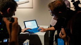 Surface Pro 3 demo at New York City