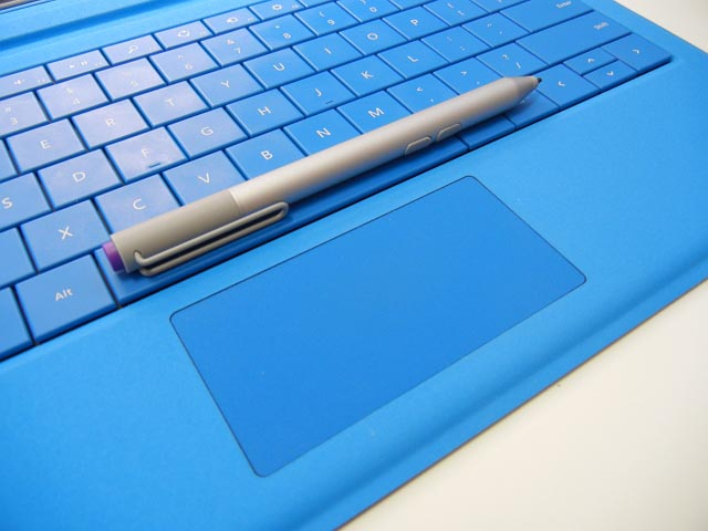 Type Cover touchpad