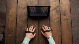 AirType keyboardless keyboard prototype