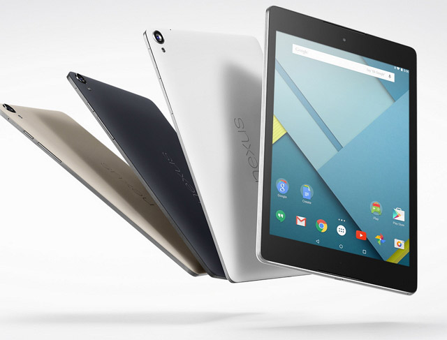Nexus 9 tablet group
