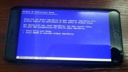 Installing Windows XP on iPhone 6 Plus