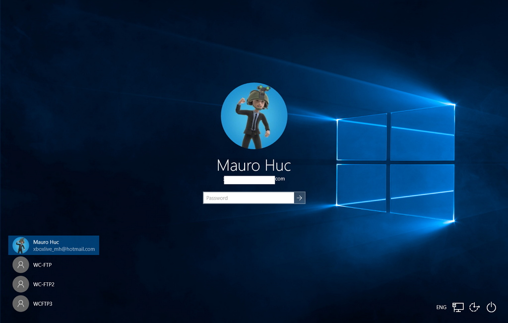 Windows 10 has a new login screen here is how to enable it windows 10 hidden logon screen ccuart Choice Image
