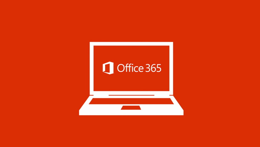 Office 365 logo orange background