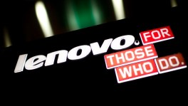 Lenovo logo and slogan