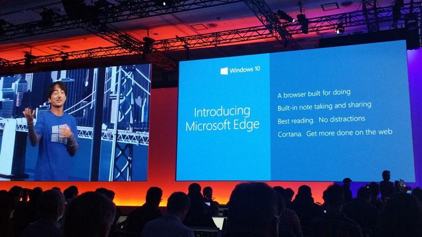 Microsoft Edge web browser for Windows 10