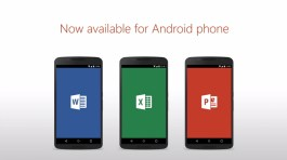 Microsoft Office apps for Android phones download
