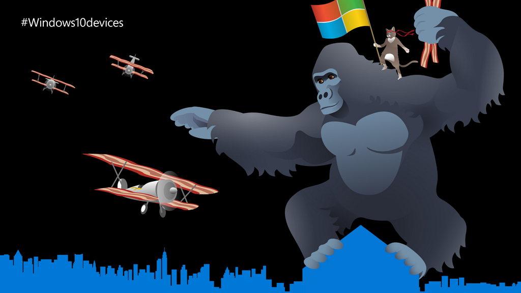 Windows ninja riding King Kong October 6, event tease