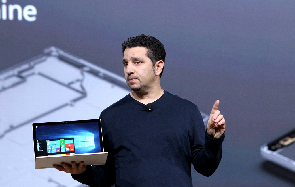 Surface Book during the Windows 10 Devices event NYC