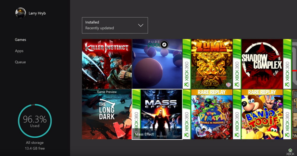 Current List Of Xbox 360 Games Playable On Xbox One