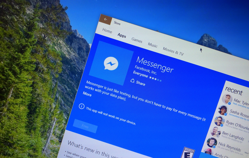 Windows Store merges with the Windows Phone Store