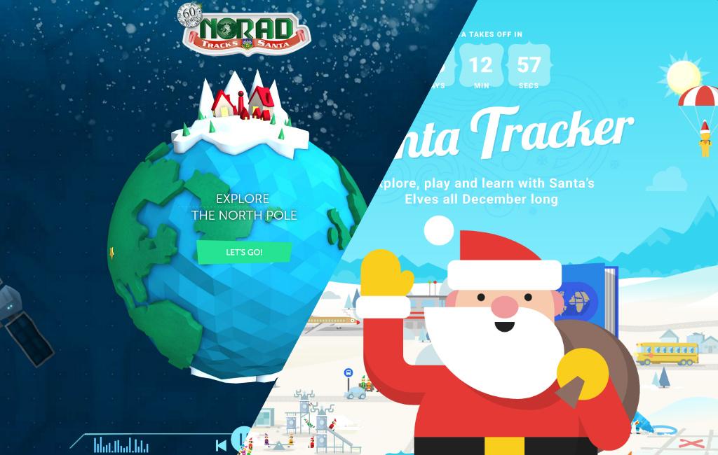 NORAD and Google Santa Tracker