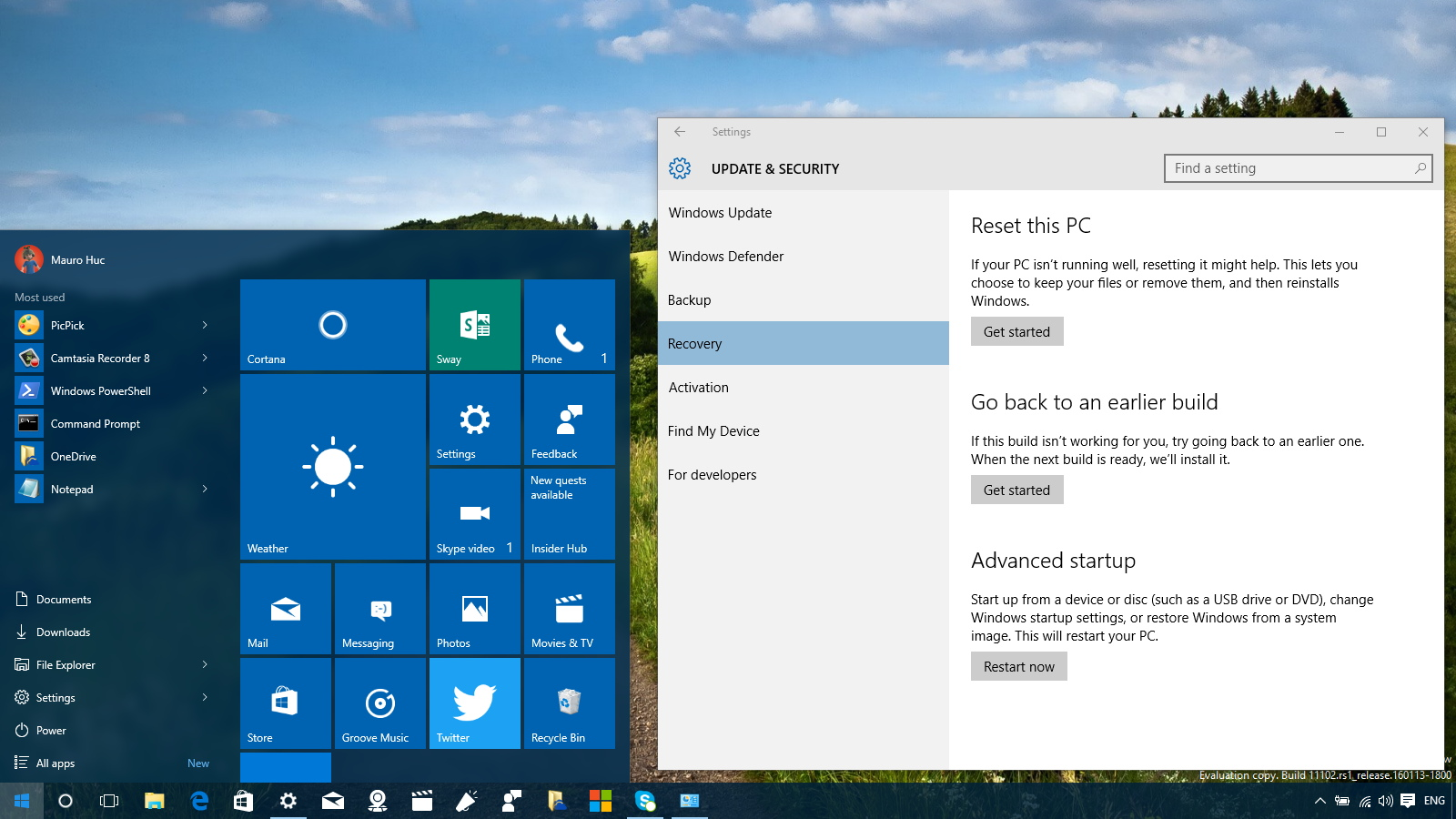 How to access 'Advanced startup' options on Windows 10 to ...