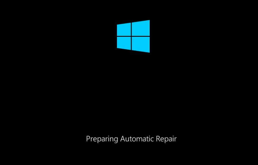 Preparing automatic repair - Windows 10