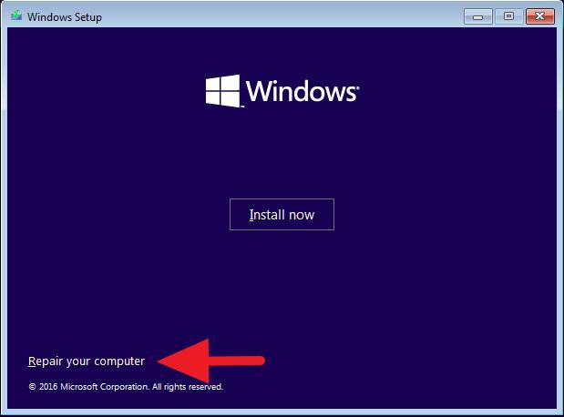 windows 8.1 startup repair using command prompt