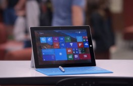 Surface 3 with keyboard and pen