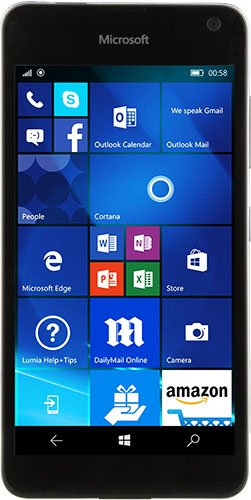 Lumia 650 official rendering