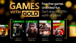Free Xbox games for March 2016