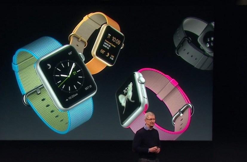 Apple Watch Woven Nylon bands