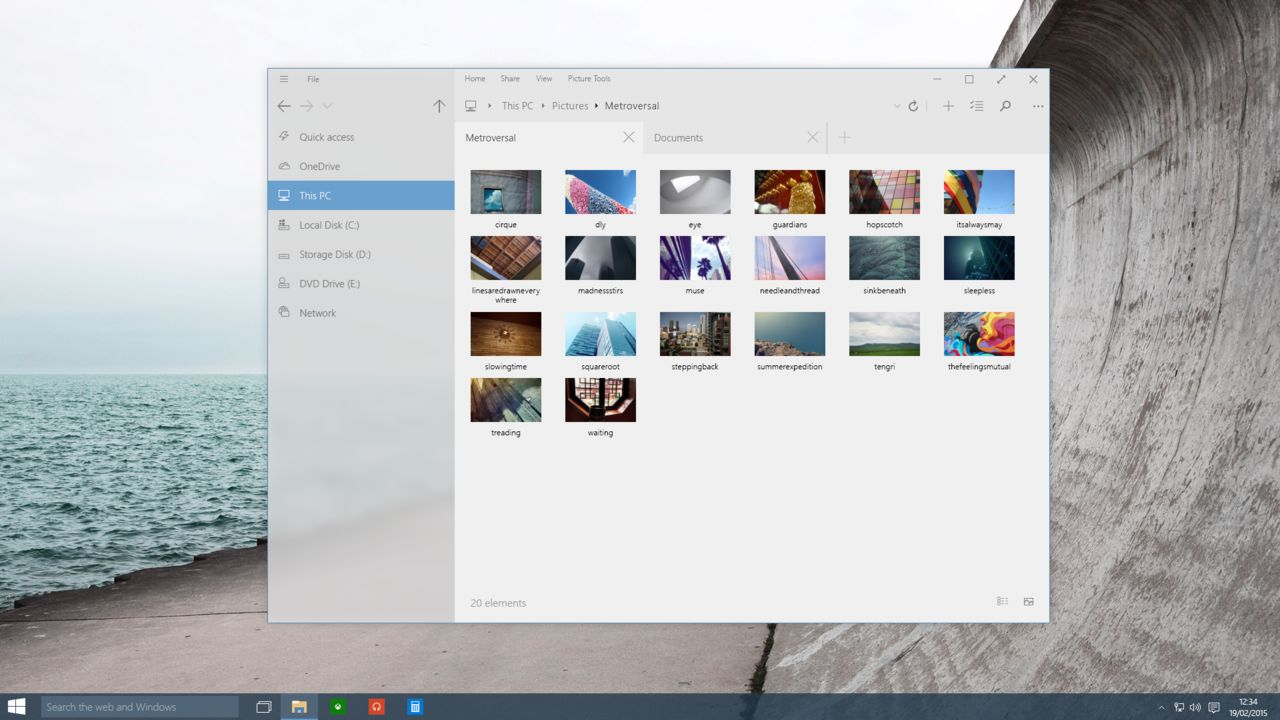 Windows 10 getting a new modern File Explorer with tabs in future