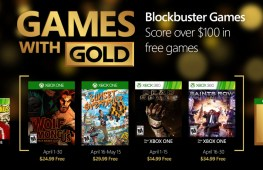 Xbox free games for April 2016