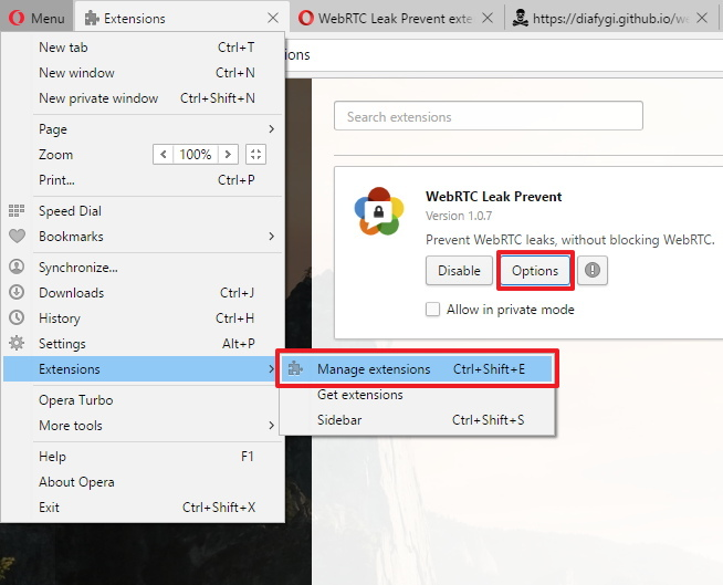 How to prevent Opera browser VPN from leaking your IP address