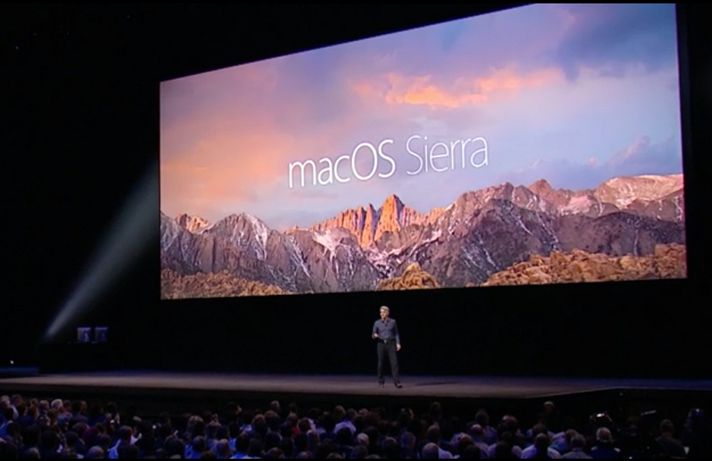 Apple renames OS X to macOS