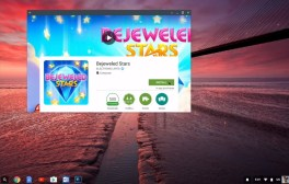 Chromebook running Android apps