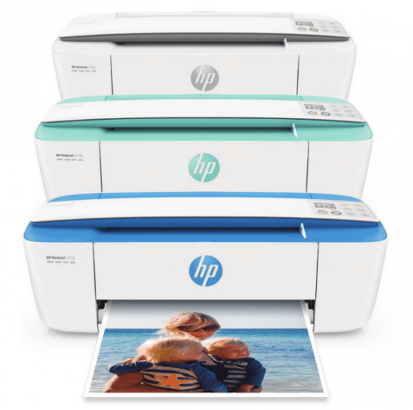 HP Deskjet 3755 wireless all-in-one printer color options