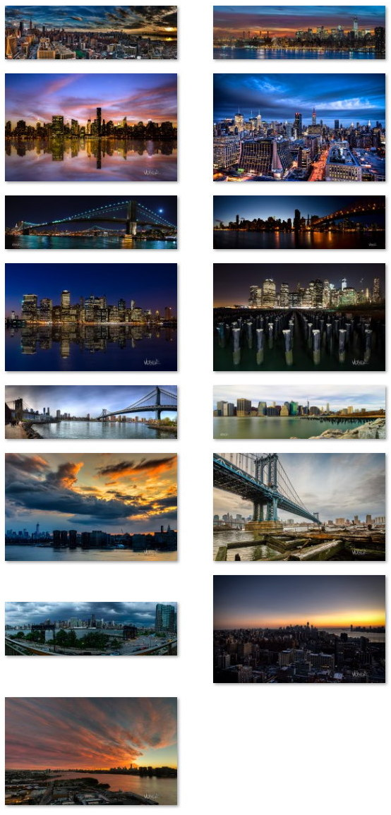 New York panoramic wallpapers for Windows