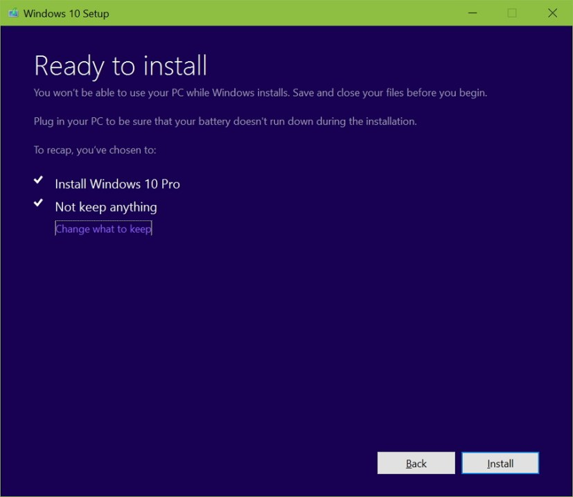 Install Windows 10 Anniversary Update