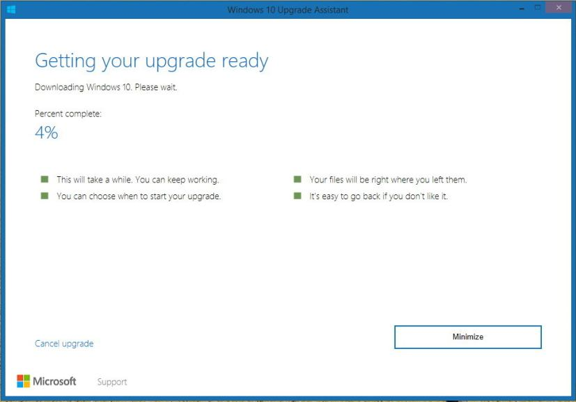 windows 10 free upgrade download microsoft