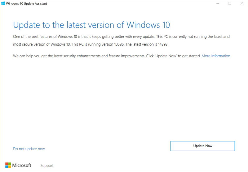 how to force windows 10 update to start download