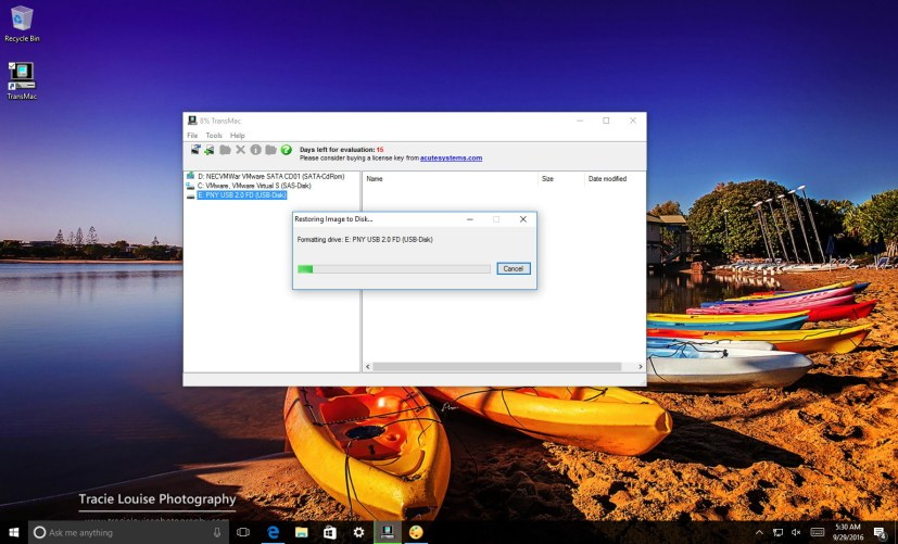 how to make a bootable mac usb on windows