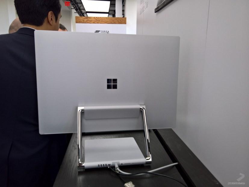 Surface Studio back