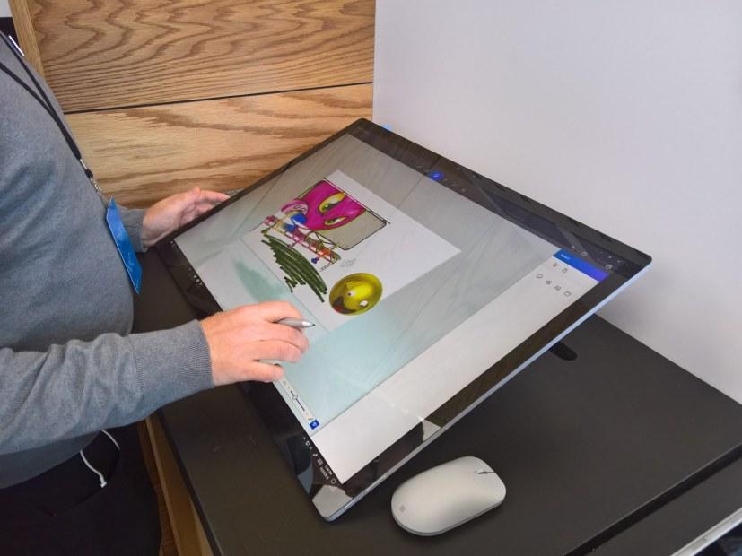 "Surface Studio ""studio mode"""