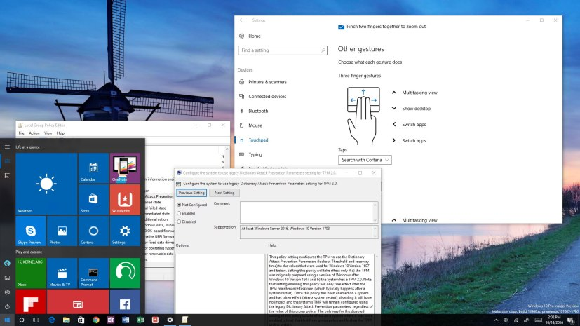 Windows 10 build 14946
