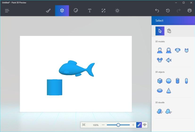 Paint 3D as default app on the Windows 10 Creators Update