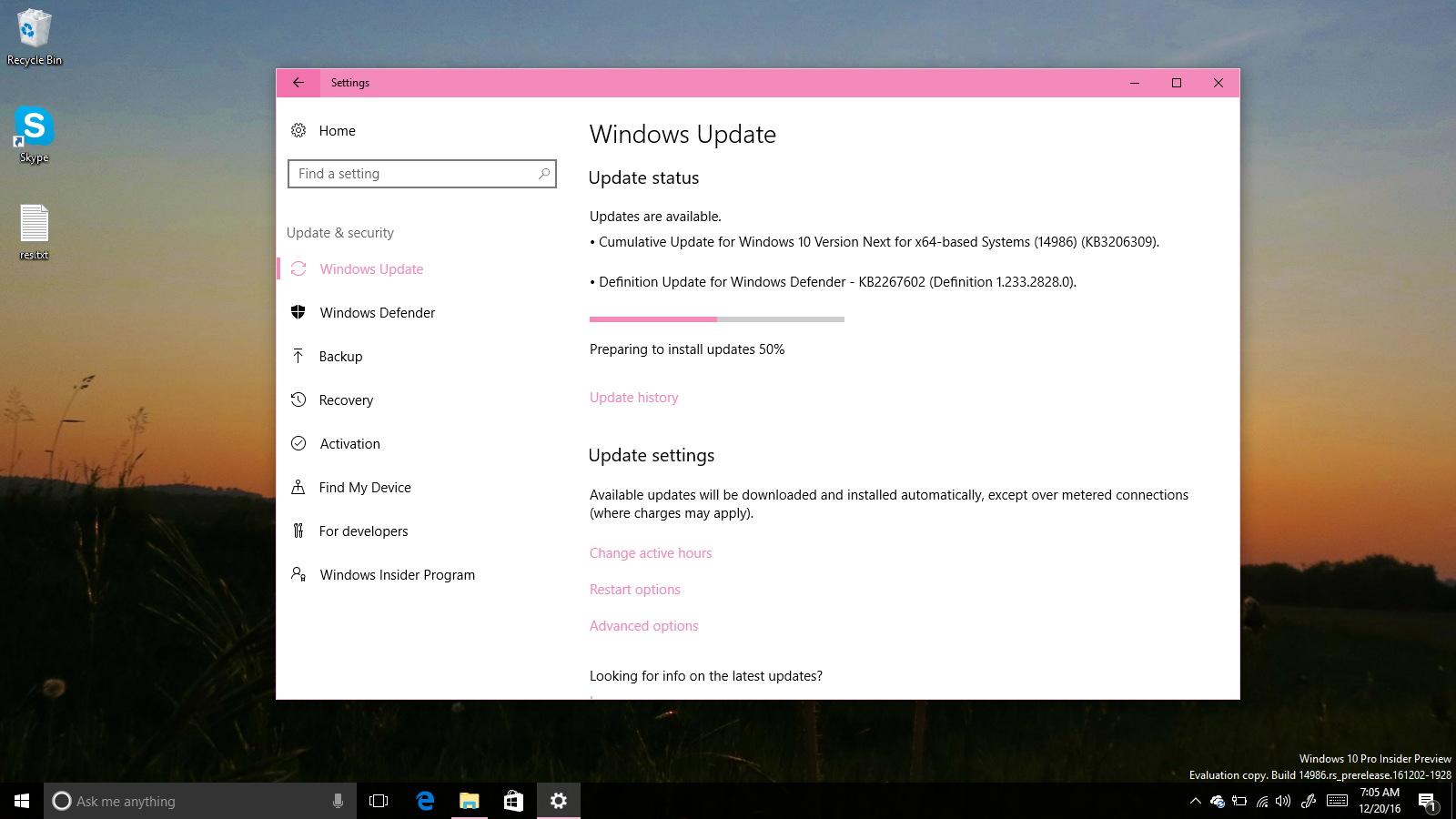 KB3206309 for Windows 10 Creators Update
