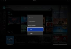 Close Xbox One apps and games